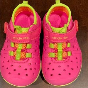 Stride rite baby water/play shoes